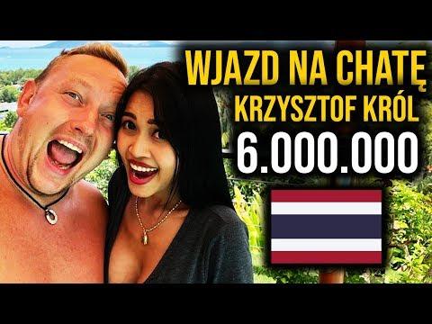 polski milioner w Tajlandii - Krzysiek Król wjazd na chate 6.000.000 *Youtuberzy płakali*
