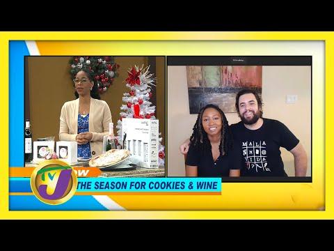 Tis the Season for Cookies & Wine | TVJ Smile Jamaica