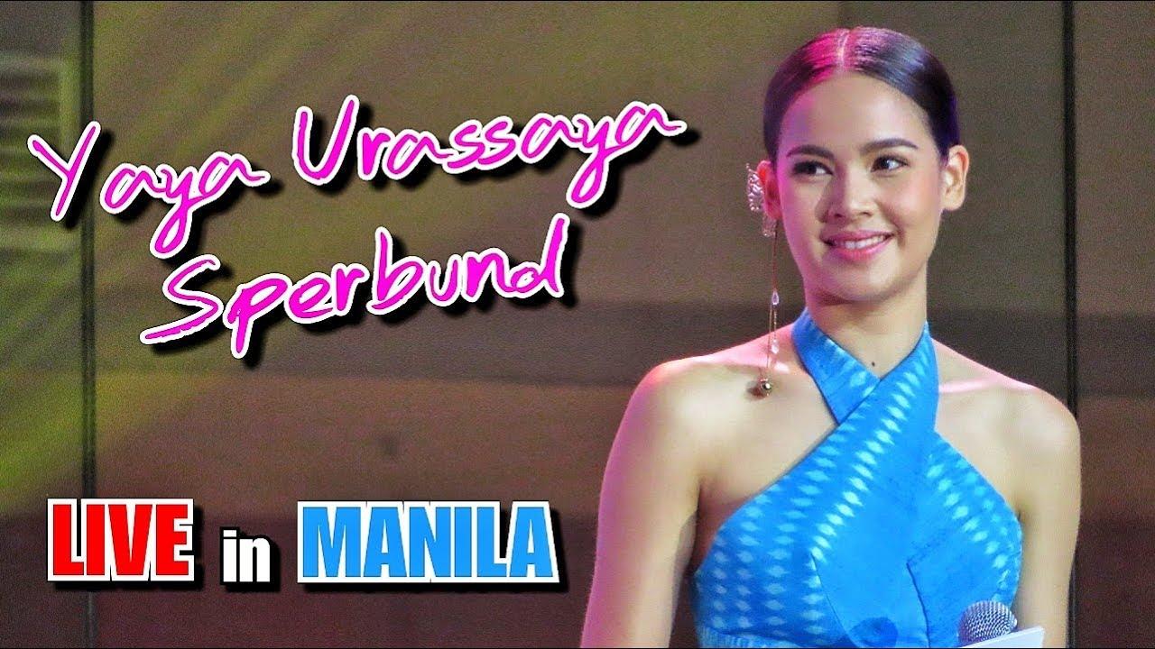 Yaya Urassaya Sperbund of Crown Princess LIVE in MANILA Philippines | Thailand Tourism Ambassador