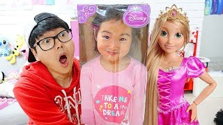 Boram BIG Rapunzel Doll & Kids Make Up