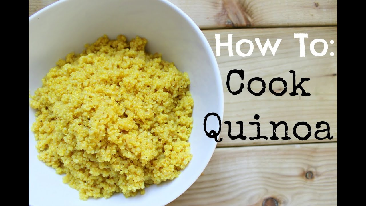 How To Cook Perfect Quinoa  Healthy Tip Tuesday