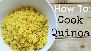 One of HealthNut Nutrition's most viewed videos: How To Cook Perfect Quinoa | Healthy Tip Tuesday