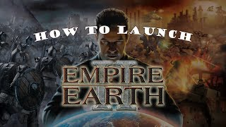 How to launch Empire Earth II on Windows 8/8.1/10