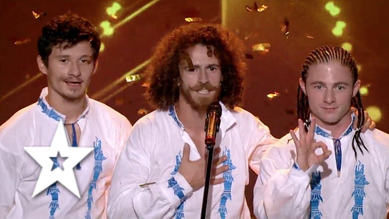 OK WorldWide INSANE GOLDEN BUZZER Performance   Auditions Week 8   Românii au talent