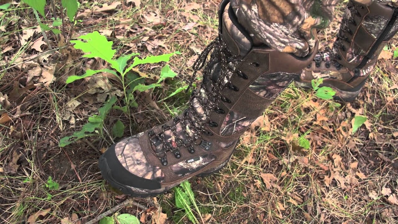 Guide Gear Pursuit Men S Camo 16 Quot Snake Boots Mossy Oak