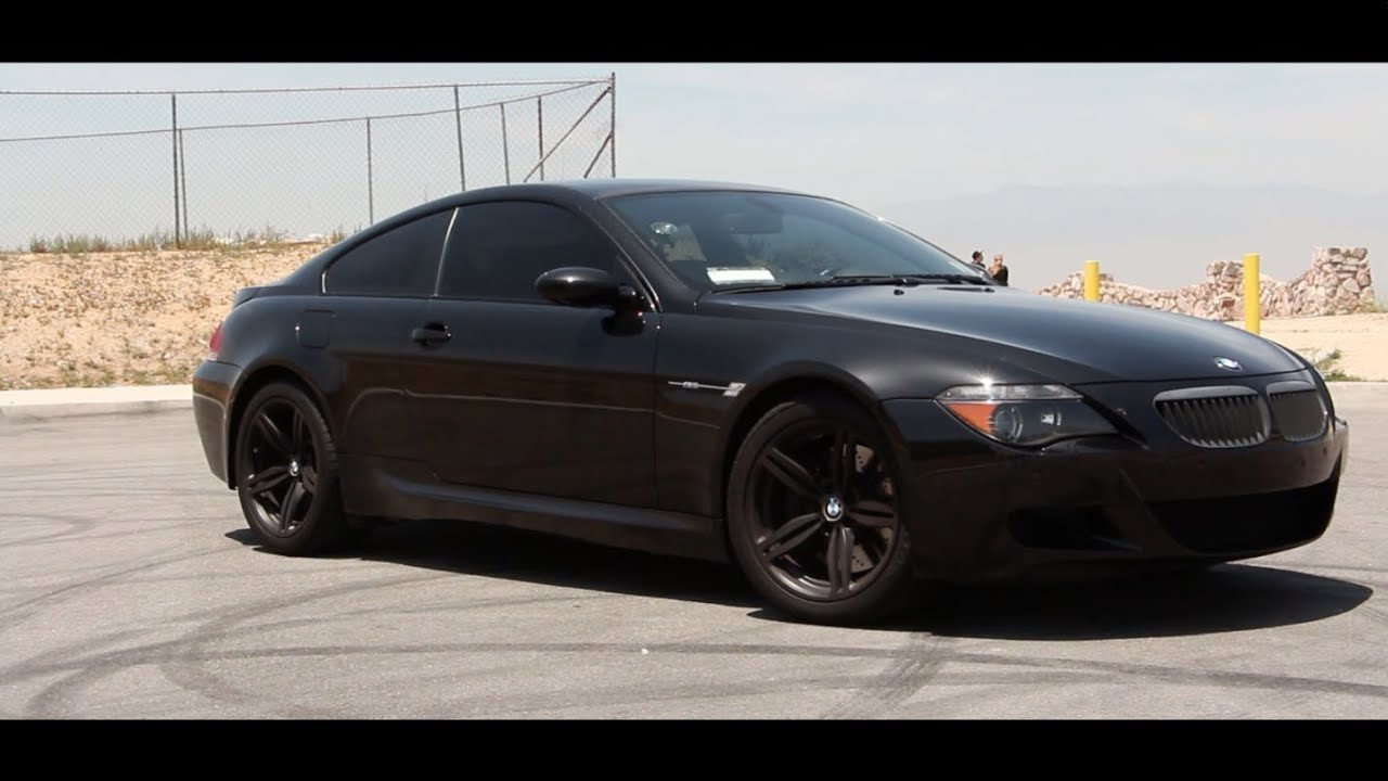 bmw e63 m6 review the v10 super coup youtube. Black Bedroom Furniture Sets. Home Design Ideas