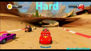 Disney Infinity Lightning Mcqueen Farm Race Gold Hard (ps3,xbox 360,wii,wii U,3ds)