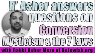 answers questions on Conversion, 7 laws & Mysticism