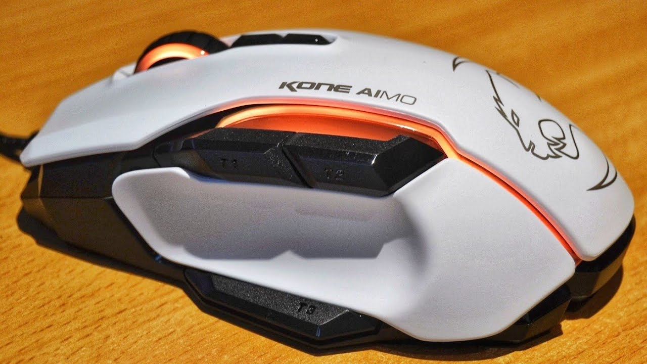 62dce360afb Roccat Kone AIMO Gaming Mouse Unboxing - YouTube