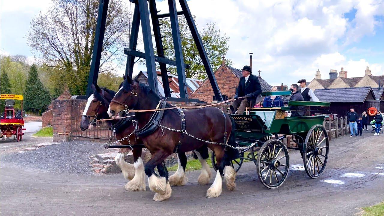 Heavy Horse Weekend Blists Hill Museum