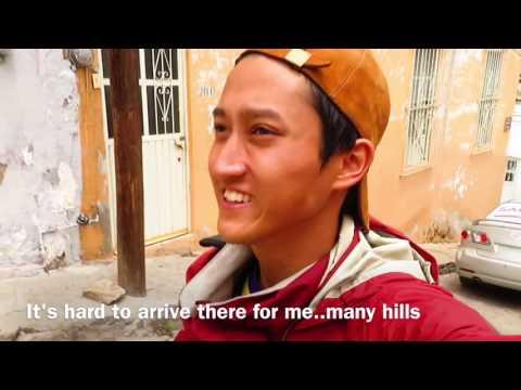 Dancer × Backpacker Shimon owaki , World travel  23 in Zacatecas / México  (HD)