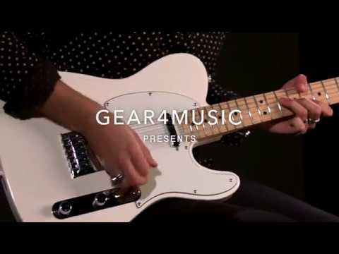 Fender Standard Telecaster, Arctic White | Demonstration