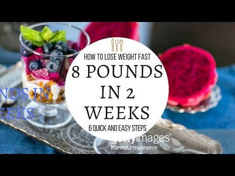 how to lose weight fast -Lose 8 Pounds in 2 Weeks