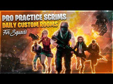 PRO PRACTICE SCRIMS / WIN FREE RP / CUSTOM ROOMS #pubgmobilelive #rpgiveaway #customrooms