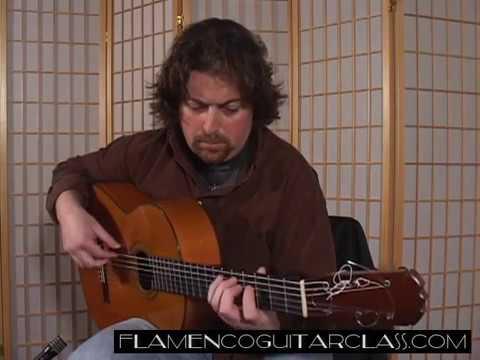 Etude No  12 Flamenco Guitar Class