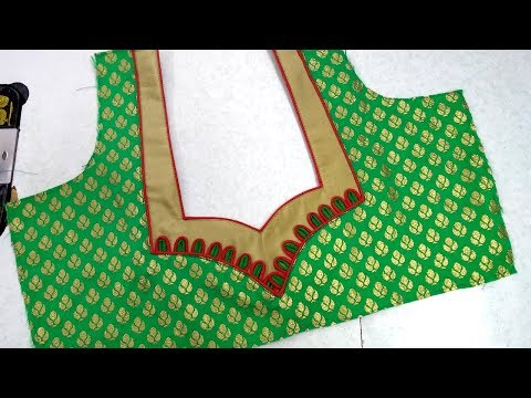 Designer blouse cutting and stitching || Womens fashion blouses
