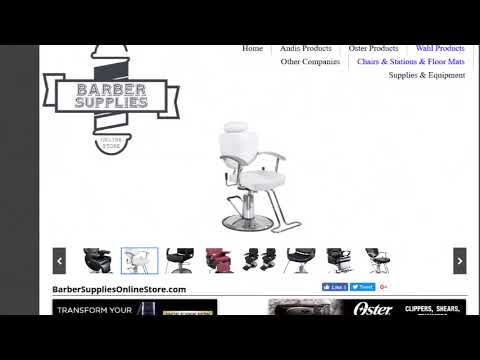 Barber Shop Chairs And Stations!!! – Prices, Ratings & More!!! Available!!!