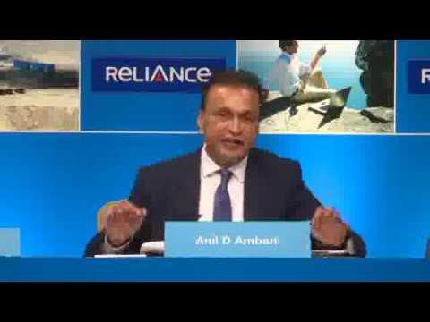 Chairman Mr. Anil Ambani's speech at the Reliance Communications Annual General Meeting 2016