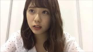 20180610 清水麻璃亜 (AKB48 チーム8) SHOWROOM④ 握手会の休憩配信.