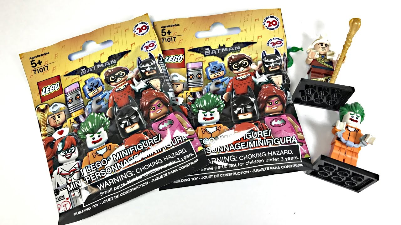 Lego Batman Movie Minifigures Blind Bags Youtube