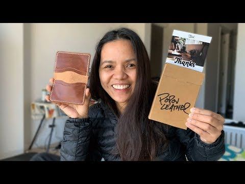 Handmade Leather Wallets By Popov Leather   Pinay In Australia