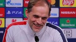 Borussia Dortmund - Paris Saint-Germain: Pressekonferenz mit Thomas Tuchel und Presnel Kimpembe
