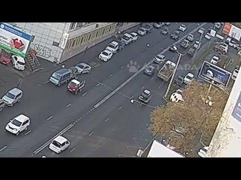 Владивосток ДТП 16 октября Партизанский пр-т Toyota Vista и Suzuki Escudo Astakada