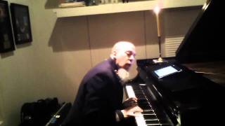 "Jordan plays ""I Believe in Father Christmas"""