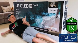 "Thanks to lg for sending me this tv! find out more about the 2020 cx 65"" oled 4k tv, click here: from a pc https://lgoled.co/tommyt999_1 mobile ht..."