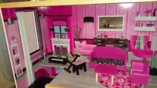 Kidkraft Sparkle Mansion Barbie Dollhouse Preview It For Baby Big Mouth