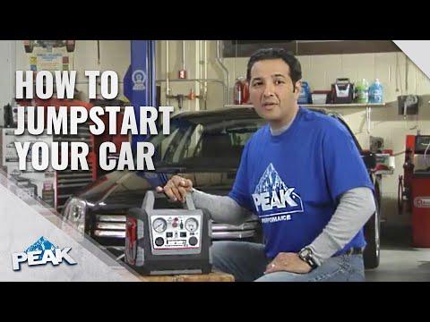 jump start  vehicle   peak  amp ju doovi