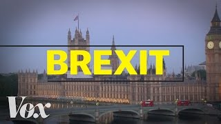 Britain is leaving the EU. Here's what that means. by : Vox