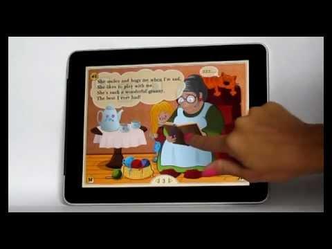 """iPad App for kids """"Poems for little children"""""""