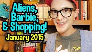 Aliens, Barbie, & Shopping! - January 2015 - DK1games