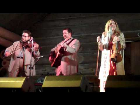 Rhonda Vincent fiddles a gospel tune