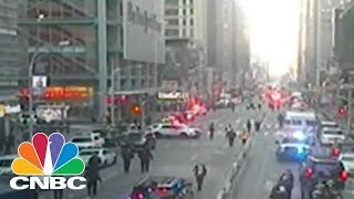 NYPD: One Person Injured And In Custody In Midtown Explosion | CNBC Free HD Video