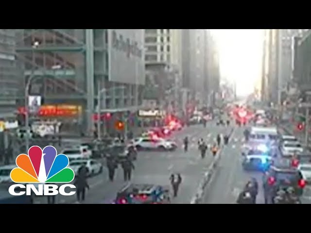 NYPD One Person Injured And In Custody In Midtown Explosion CNBC