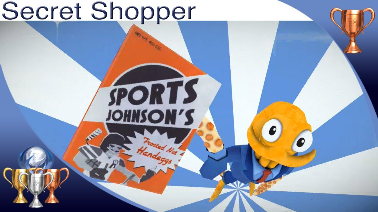 Octodad: Dadliest Catch [PS4] - Secret Shopper - Trophy Guide (Get the Sports Johnson Cereal)