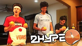 2HYPE CHOPPED CHALLENGE!