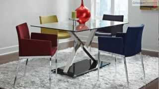120 Xy Chrome Dining Room Collection From Coaster Furniture