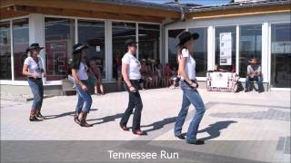 Tennessee Run  Line Dance