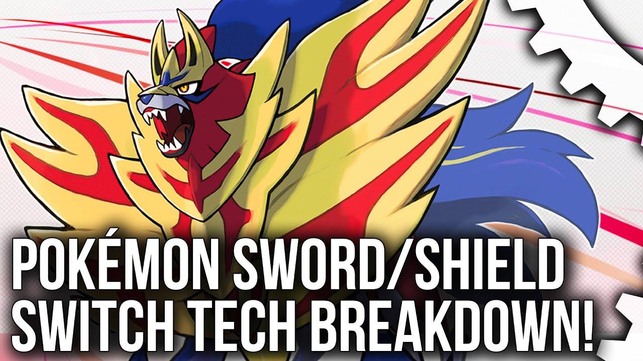 Τεχνικά υποδεέστερο το Pokémon Sword/Shield βάσει ανάλυσης του Digital Foundry