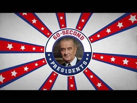 Lyndon B. Johnson | 60-Second Presidents | PBS