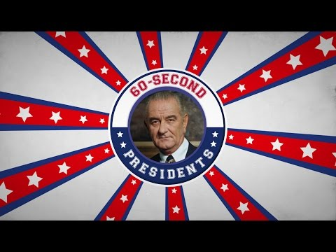 Lyndon B. Johnson | 60-Second Presidents | PBS