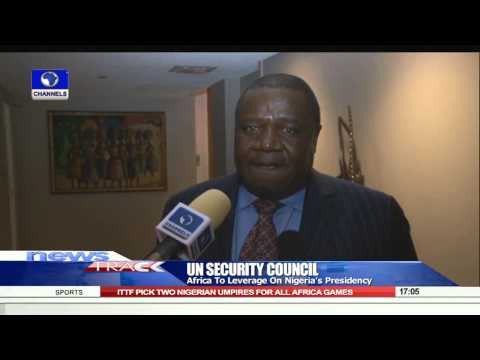 Africa To Leverage On Nigeria's UN Security Council Presidency -- 18/08/15