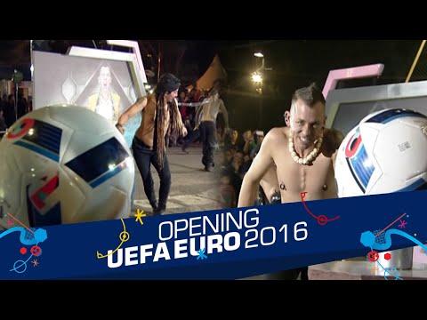 Battle 'Tug Of War' Limbad Vs. Space Cowboy [Opening Celebration UEFA EURO 2016] [10 Jun 2016]