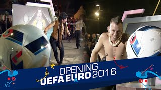 Battle 'Tug Of War' Limbad vs. Space Cowboy [Opening Celebration UEFA EURO 2016] [10 Jun 2016]