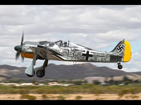 P-51 Mustang Vs. Fw 190-Which was Better?