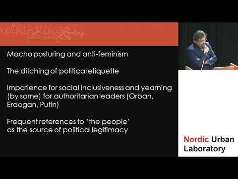 Nordic Urban Lab 2018 - keynote by Franco Bianchini