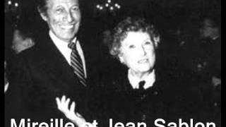 Presque oui   :  Mireille et Jean Sablon..